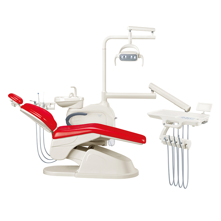 GD-S200 Dental unit with ceramic rotatable spitton
