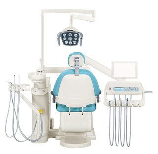 GD-S450 floor fiexed type Dental unit with implant led lamp